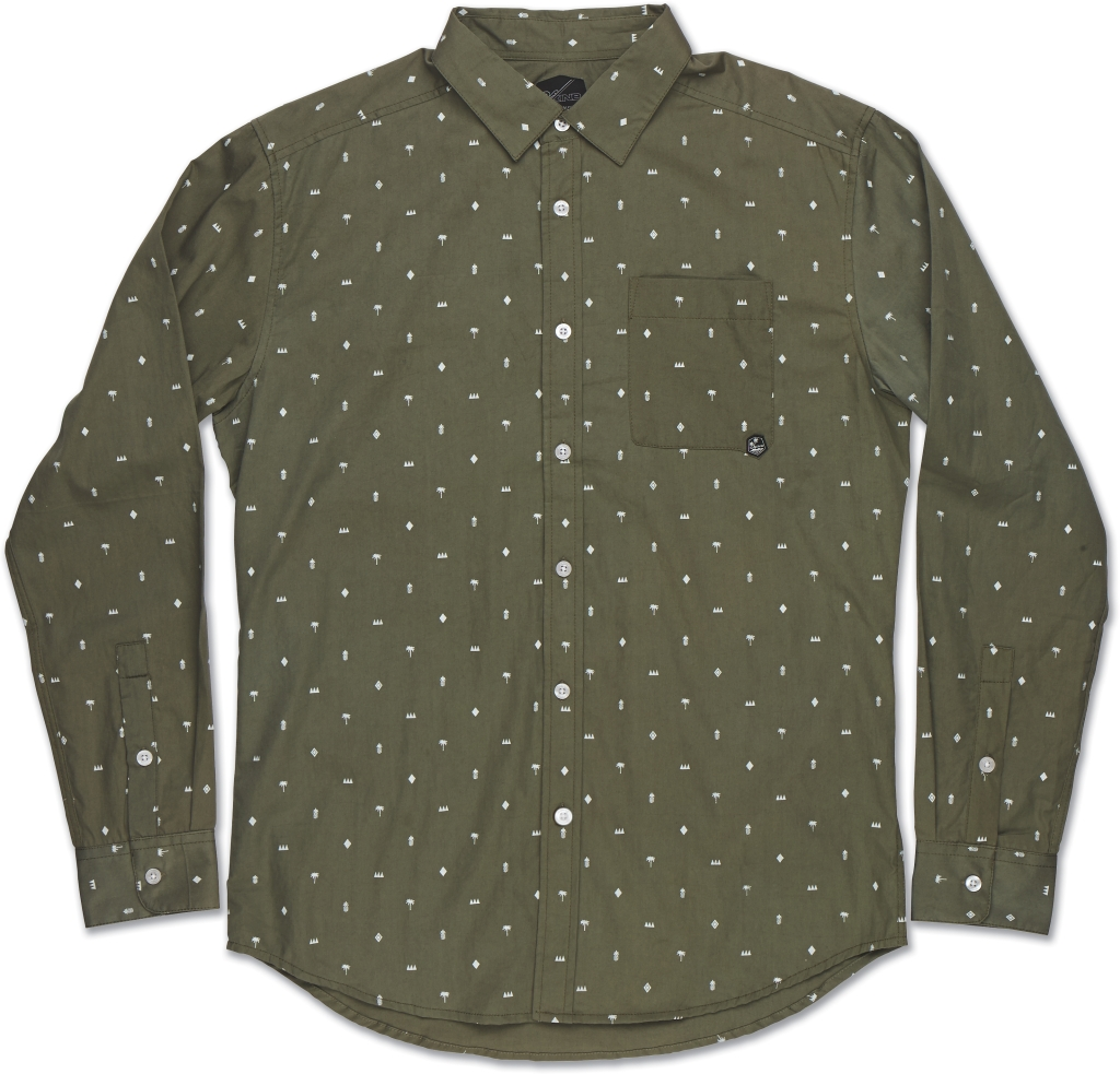 Dakine Backyard Long Sleeve Olive-30