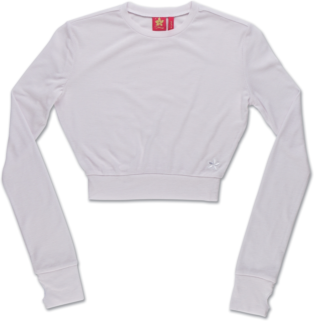 Dakine Rib Crop Top White-30