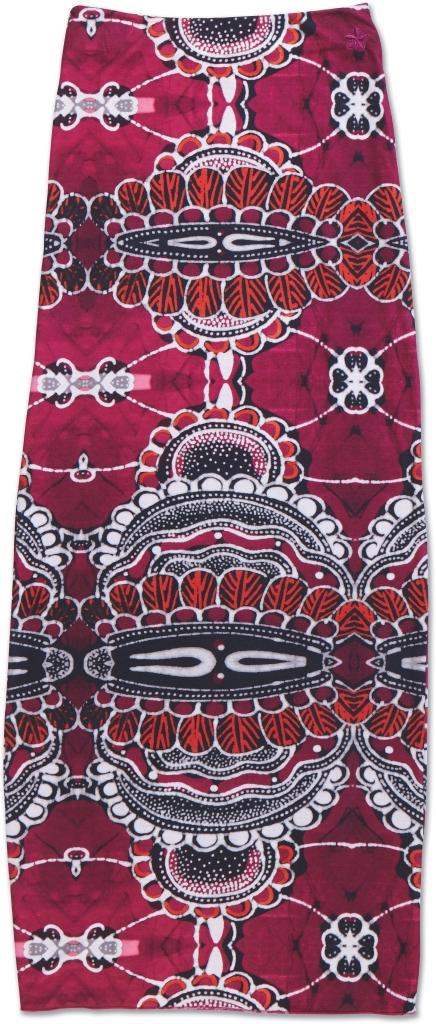 Dakine Jasmine Maxi Skirt Shakti Magenta-30