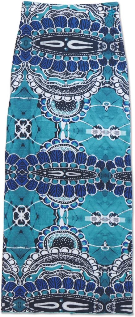 Dakine Jasmine Maxi Skirt Shakti Teal-30