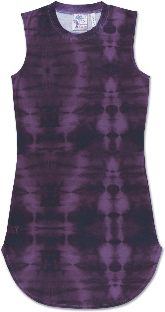 Dakine Kini Mini Dress Purple Tie Dye-30