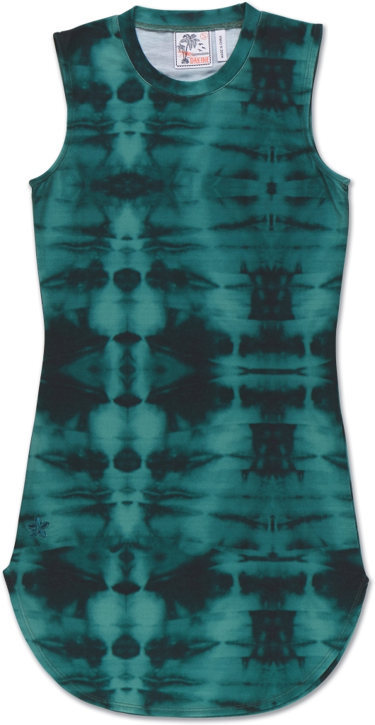 Dakine Kini Mini Dress Seaweed Tie Dye-30