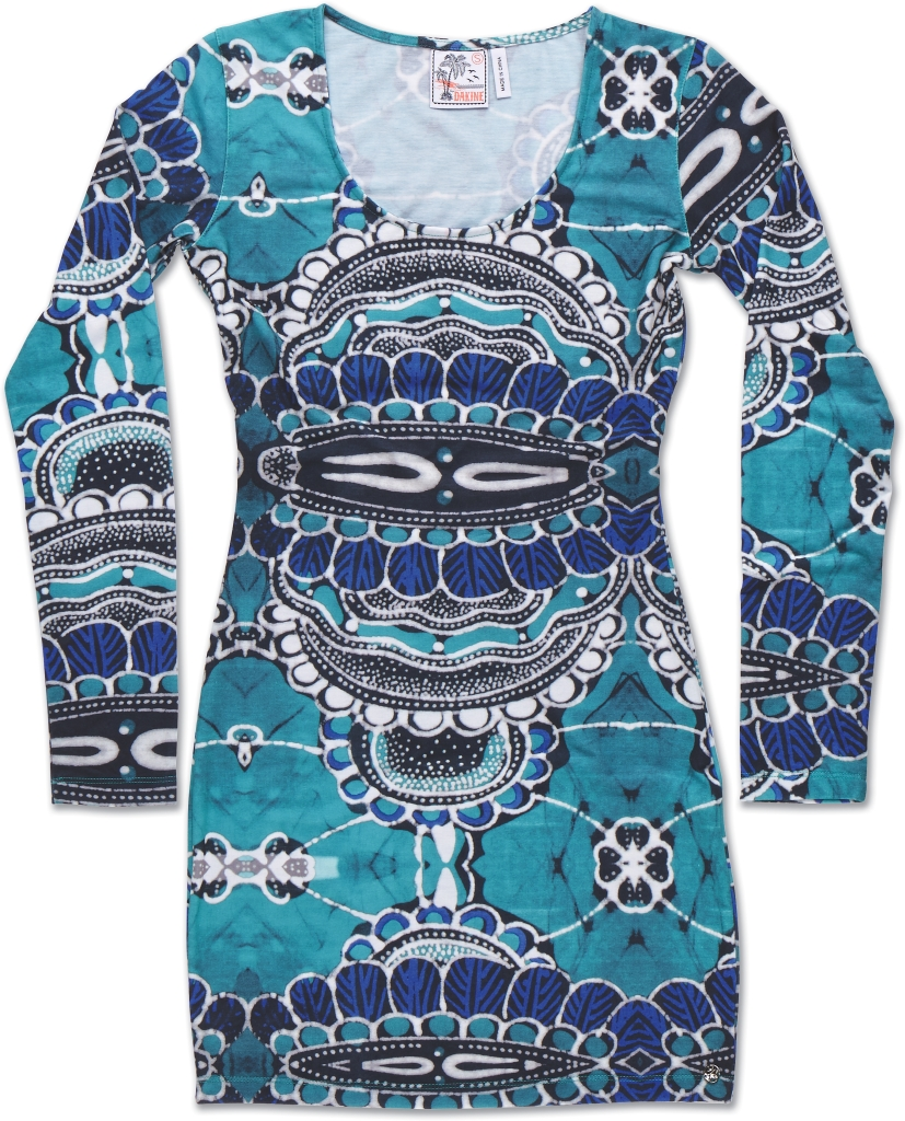 Dakine Honolulu Mini Dress Shakti Teal-30