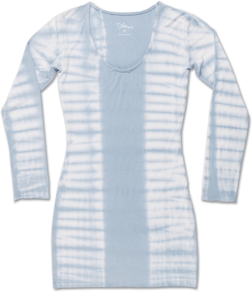 Dakine Beach Break Mini Dress Beach Blue Tiger Dye-30