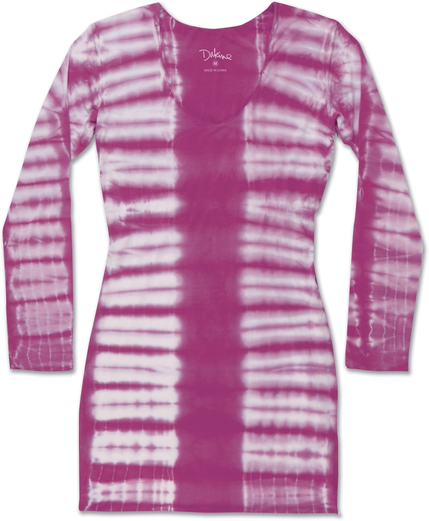Dakine Beach Break Mini Dress Magenta Tiger Dye-30