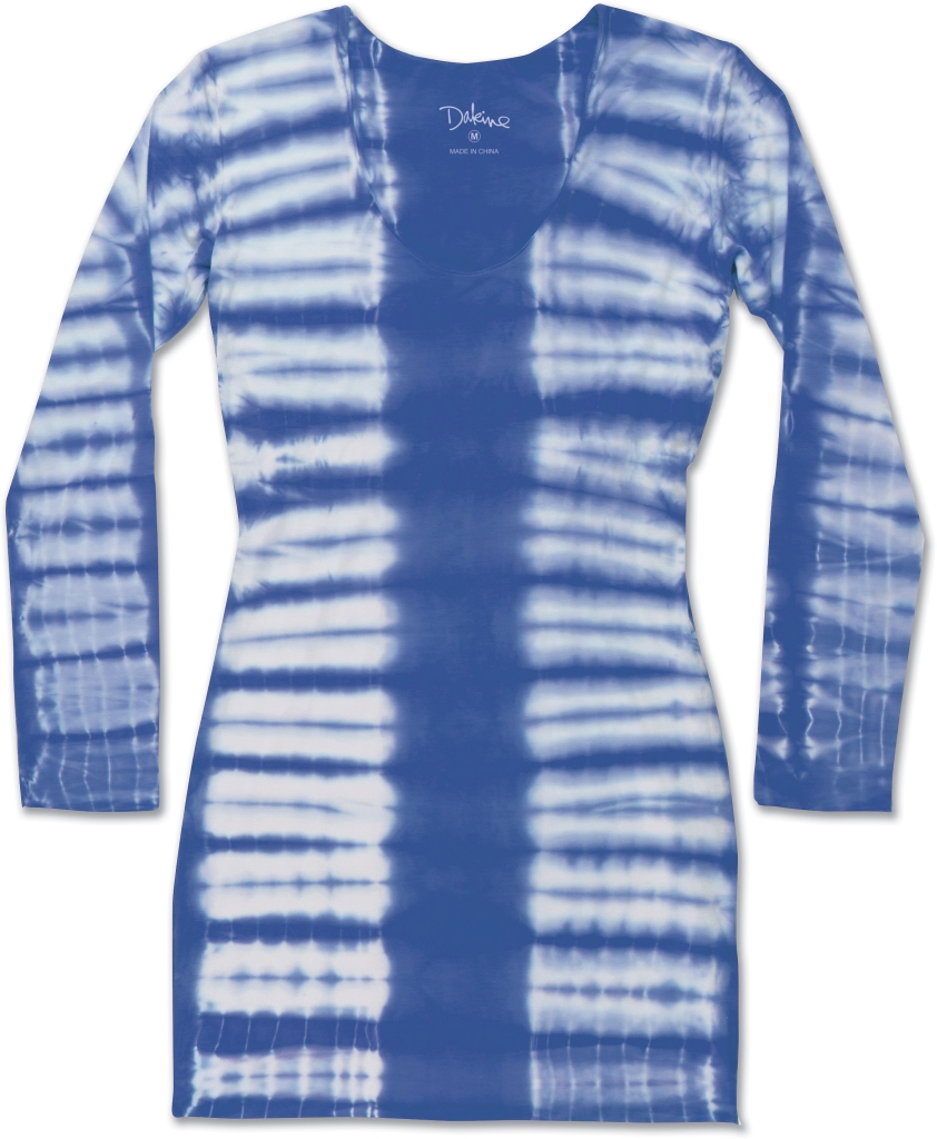 Dakine Beach Break Mini Dress Royal Tiger Dye-30
