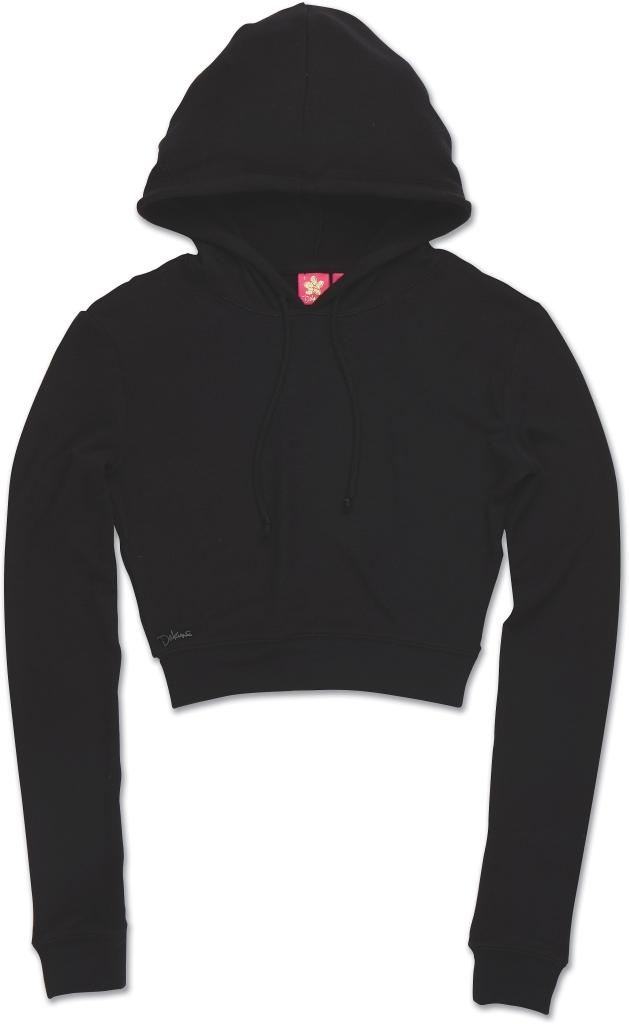 Dakine Kirra Crop Hoodie Black-30
