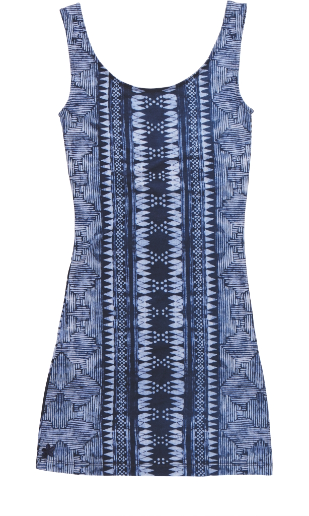 Dakine Pele Mini Dress Batik Indigo-30