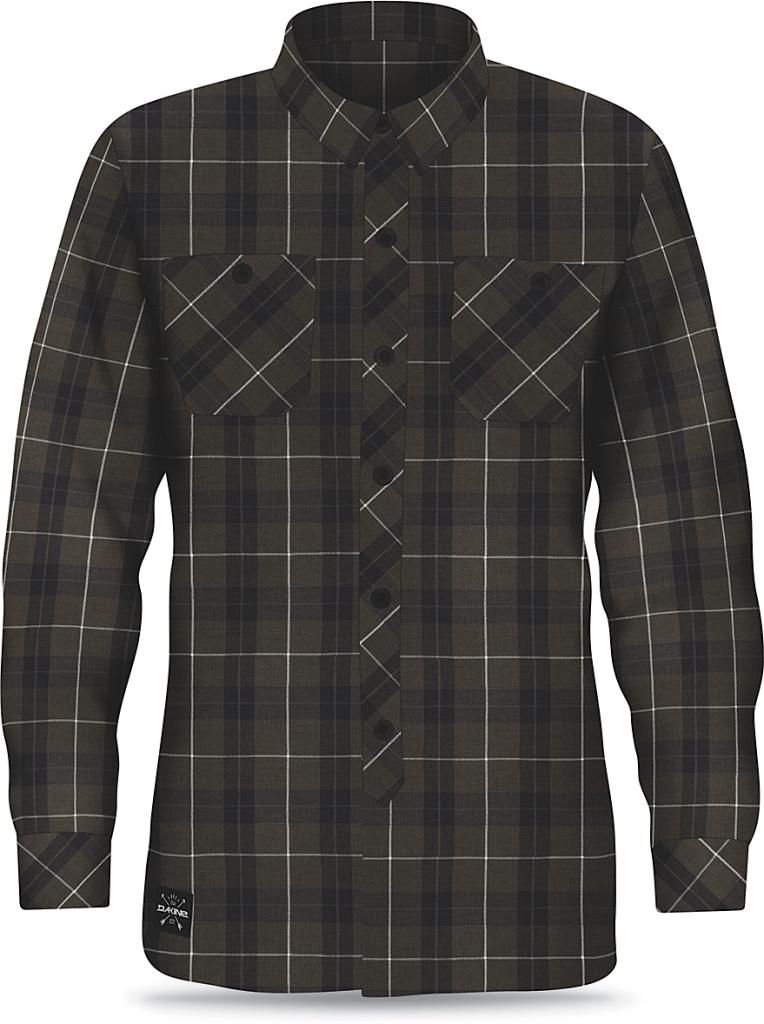 Dakine Mens Underwood Flannel Jungle / Black-30