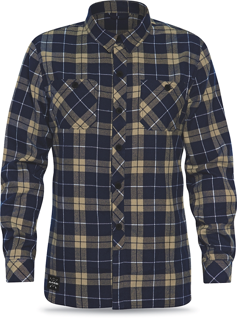 Dakine Mens Underwood Flannel Midnight / Dune-30