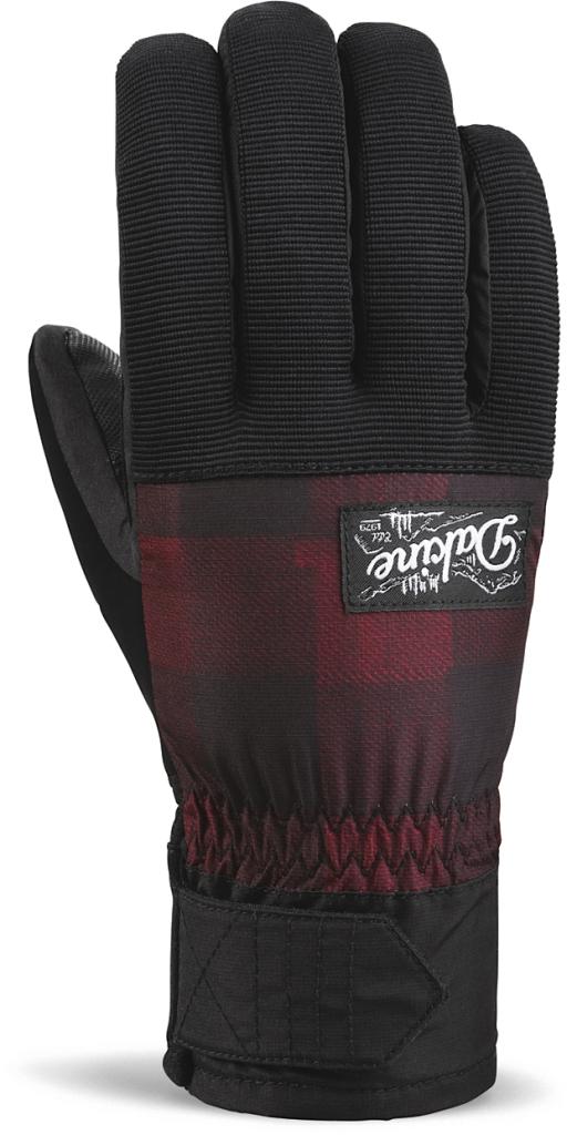 Dakine Monza Glove Red Check-30