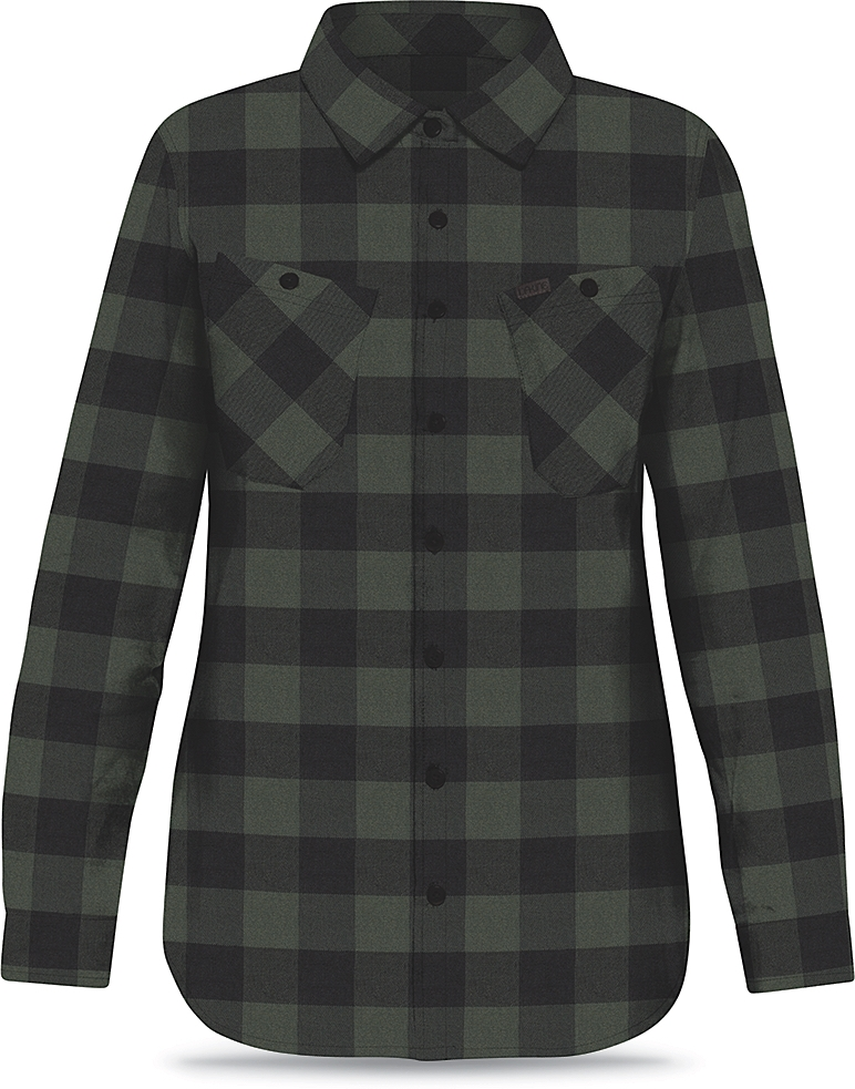 Dakine Womens Canterbury Flannel Pine / Black-30
