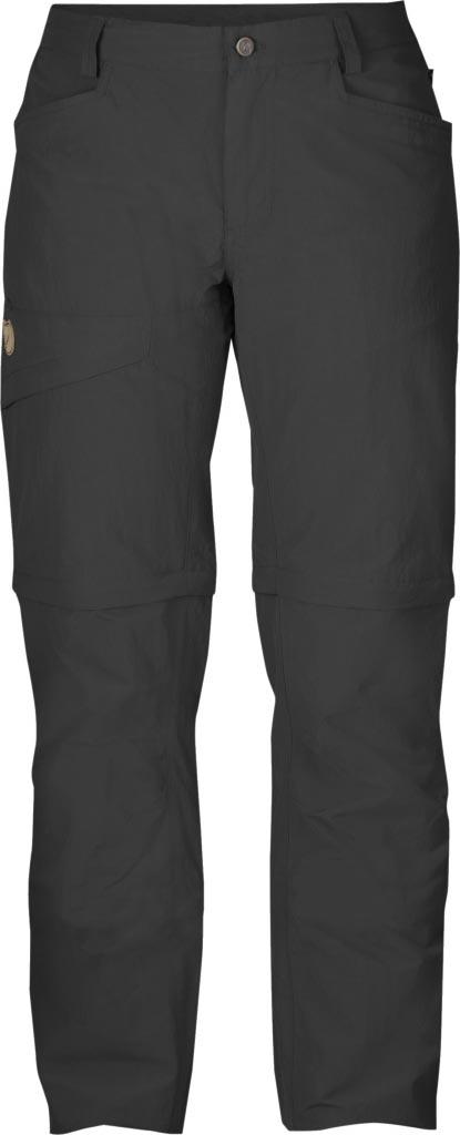 FjallRaven - Daloa MT Zip-Off Trousers Dark Grey - Zip-Off Pants - 38