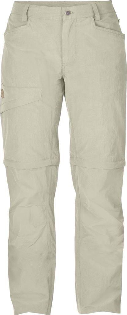 FjallRaven - Daloa MT Zip-Off Trousers Light Beige - Zip-Off Pants - 42