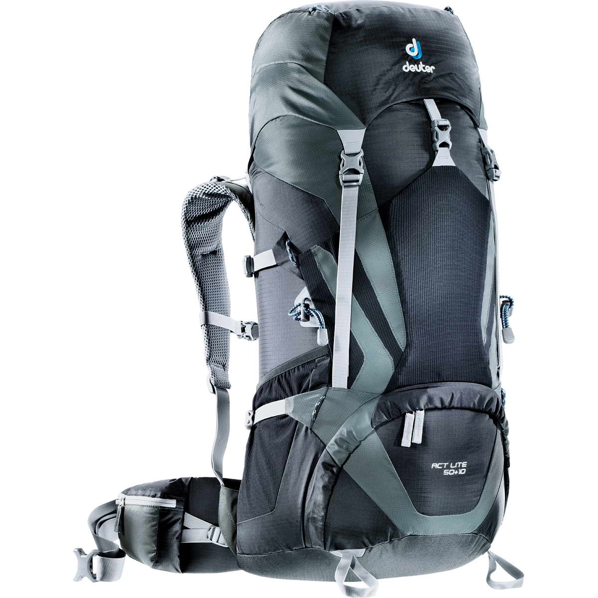 Deuter ACT Lite 50 + 10 black-granite-30