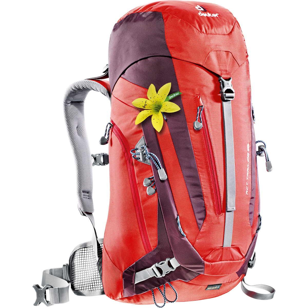 Deuter ACT Trail 28 SL fire-aubergine-30