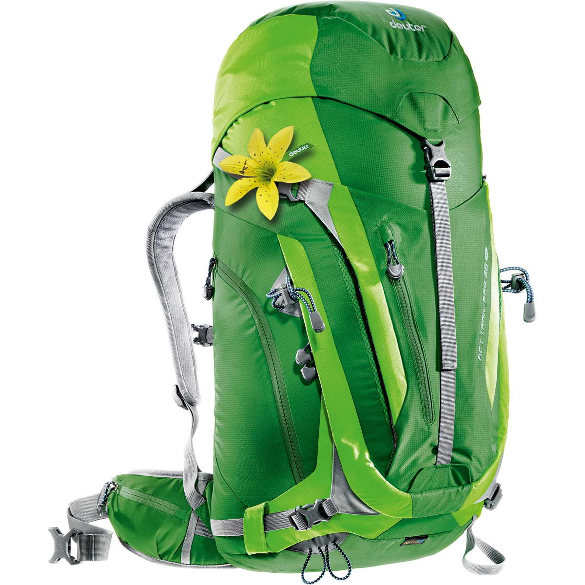 Deuter ACT Trail PRO 38 SL emerald-kiwi-30