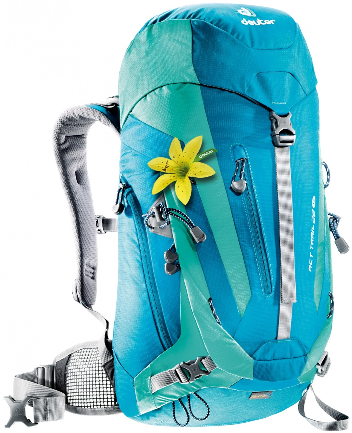 Deuter ACT Trail 22 SL petrol-mint-30