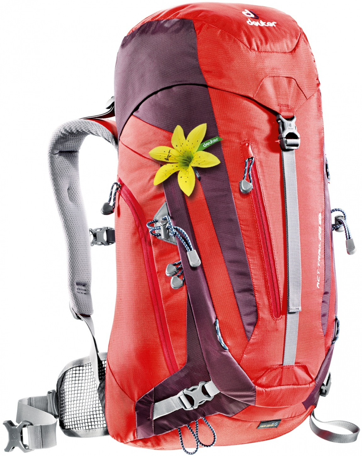 Deuter ACT Trail 28 SL fire-aubergine-30