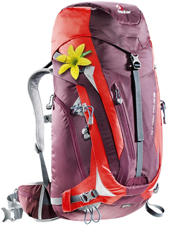 Deuter ACT Trail PRO 38 SL aubergine-fire-30