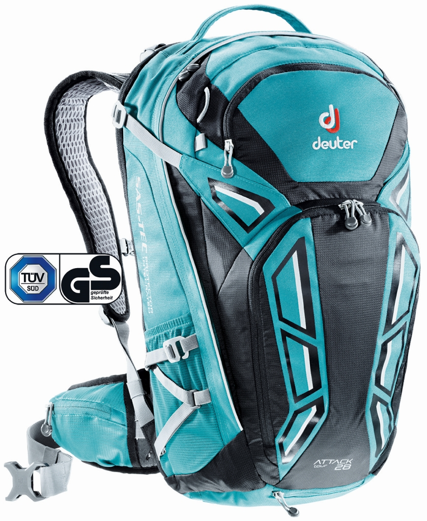 Deuter Attack Tour 28 petrol-black-30