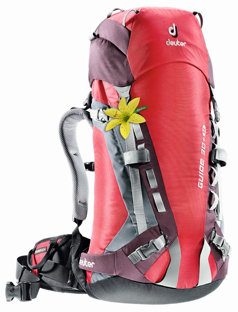 Deuter Guide 30+ SL fire-aubergine-30