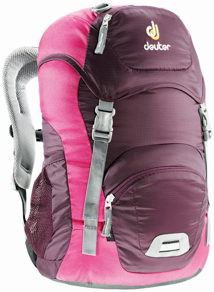 Deuter Junior aubergine-magenta-30