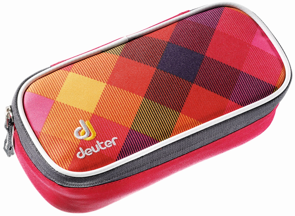Deuter Pencil Case berry crosscheck-30