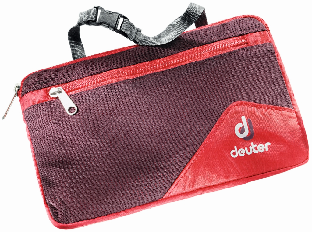 Deuter Wash Bag Lite II fire-aubergine-30