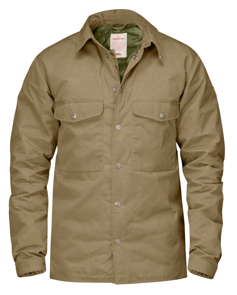 FjallRaven Down Shirt No.1 Sand-30