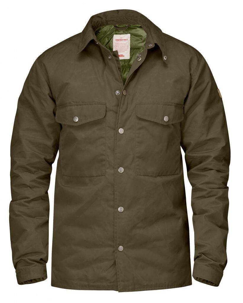FjallRaven Down Shirt No.1 Dark Olive-30