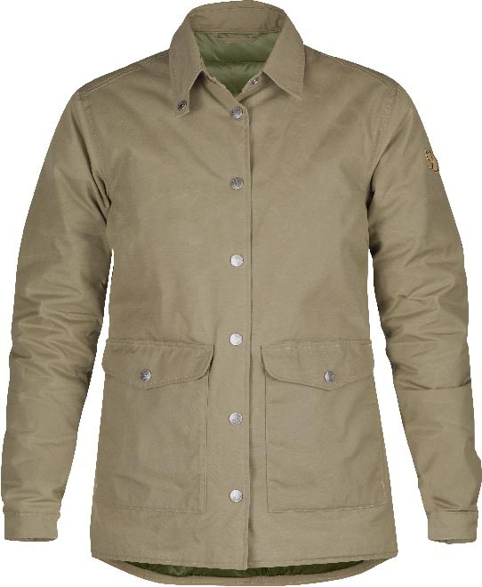 FjallRaven Down Shirt Jacket No.1 W Sand-30