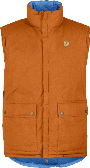 FjallRaven Down Vest No. 6 Burnt Orange-30