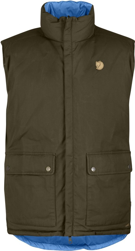 FjallRaven Down Vest No. 6 Dark Olive-30