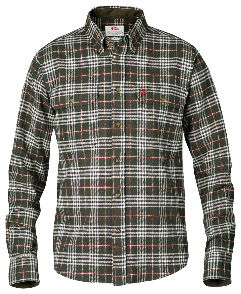 FjallRaven Duck shirt New Moss-30