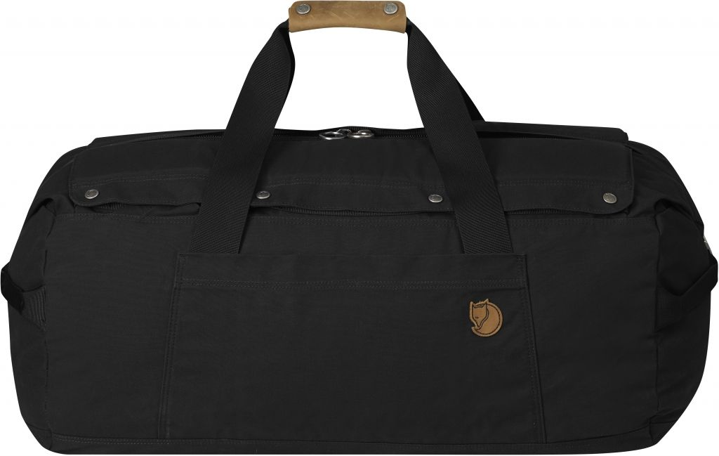 FjallRaven Duffel No.6 Medium Black-30