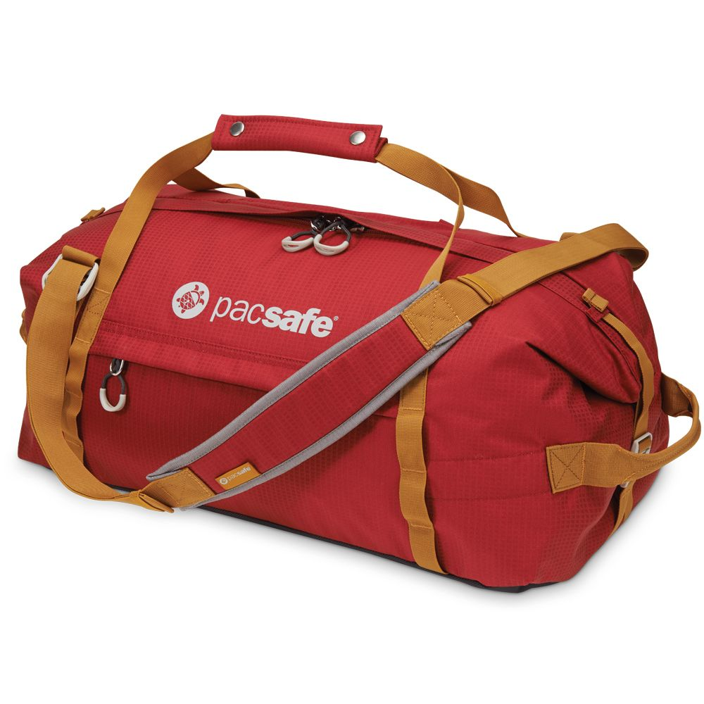 Pacsafe Duffelsafe AT45 Chili / Khaki-30