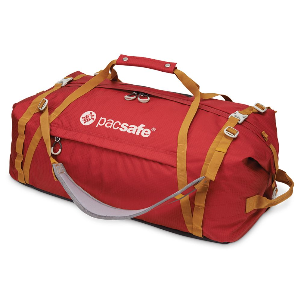Pacsafe Duffelsafe AT80 Chili / Khaki-30