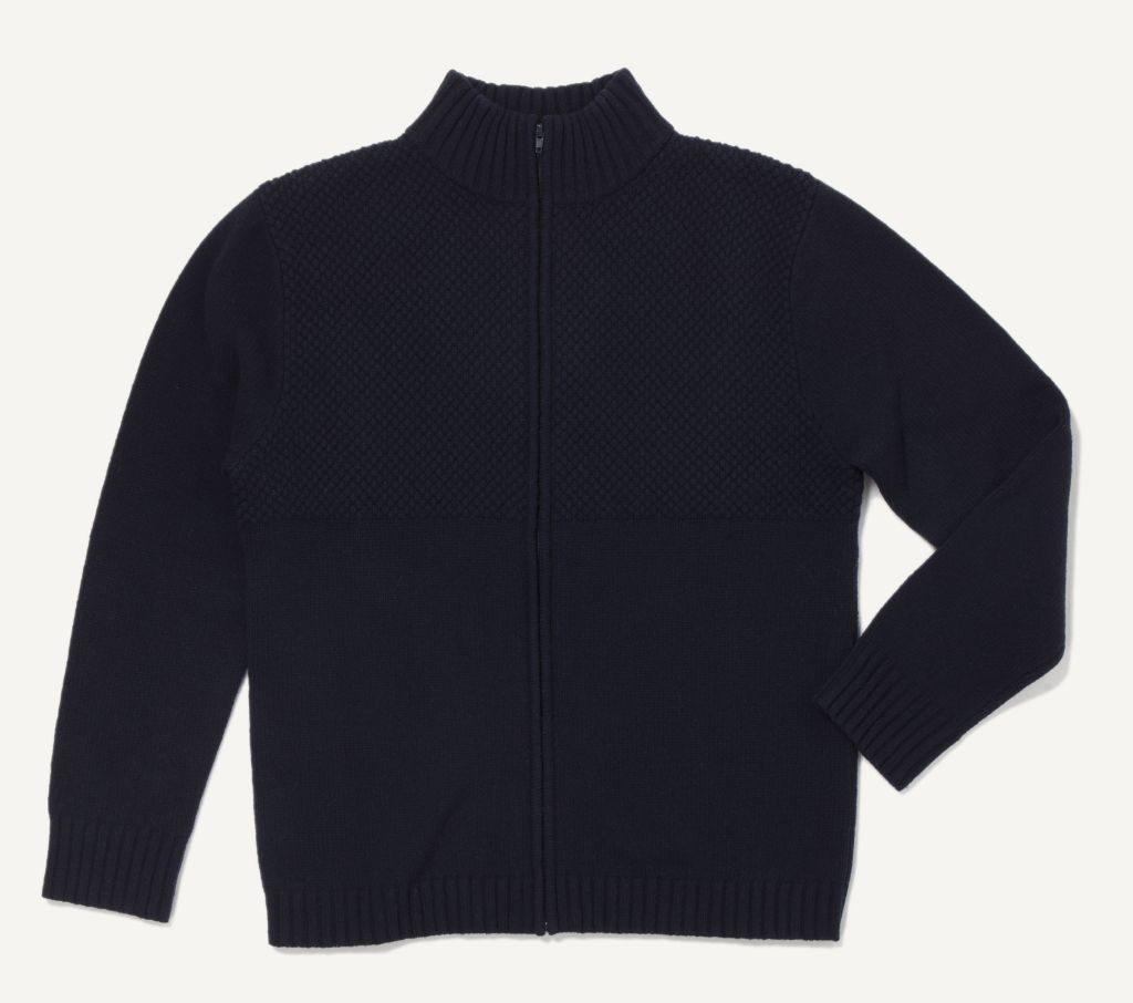 Tyr Zipped Sweater Dark Blue-30
