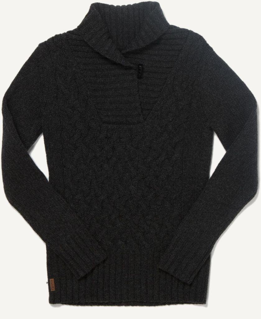 Kul Women´s Sweater Black Melange-30