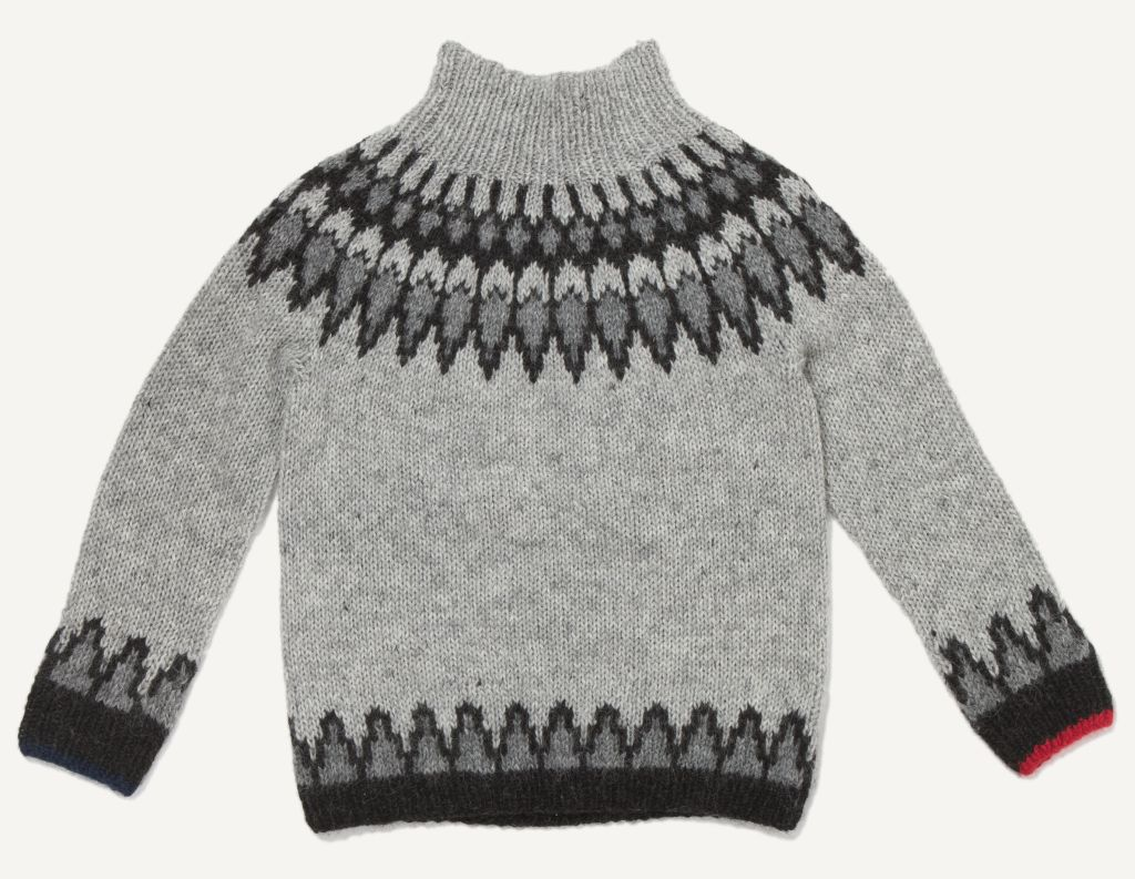 Grimsey Wool Sweater Ash Grey-30
