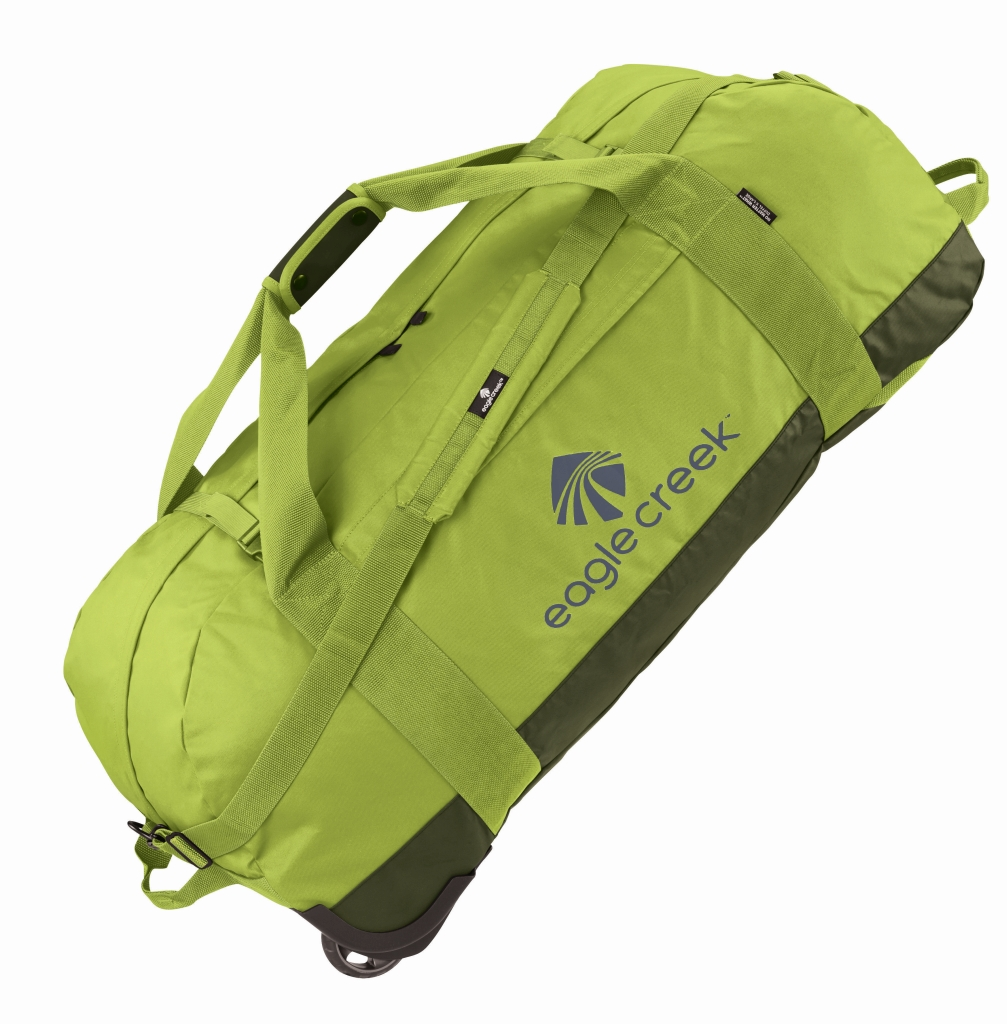 Eagle Creek No Matter What Rolling Duffel XL strobe green-30