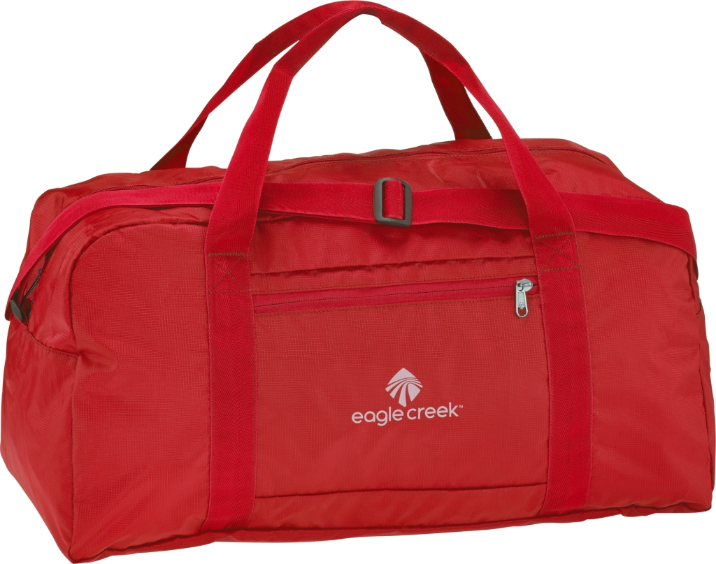 Eagle Creek Packable Duffel red fire-30