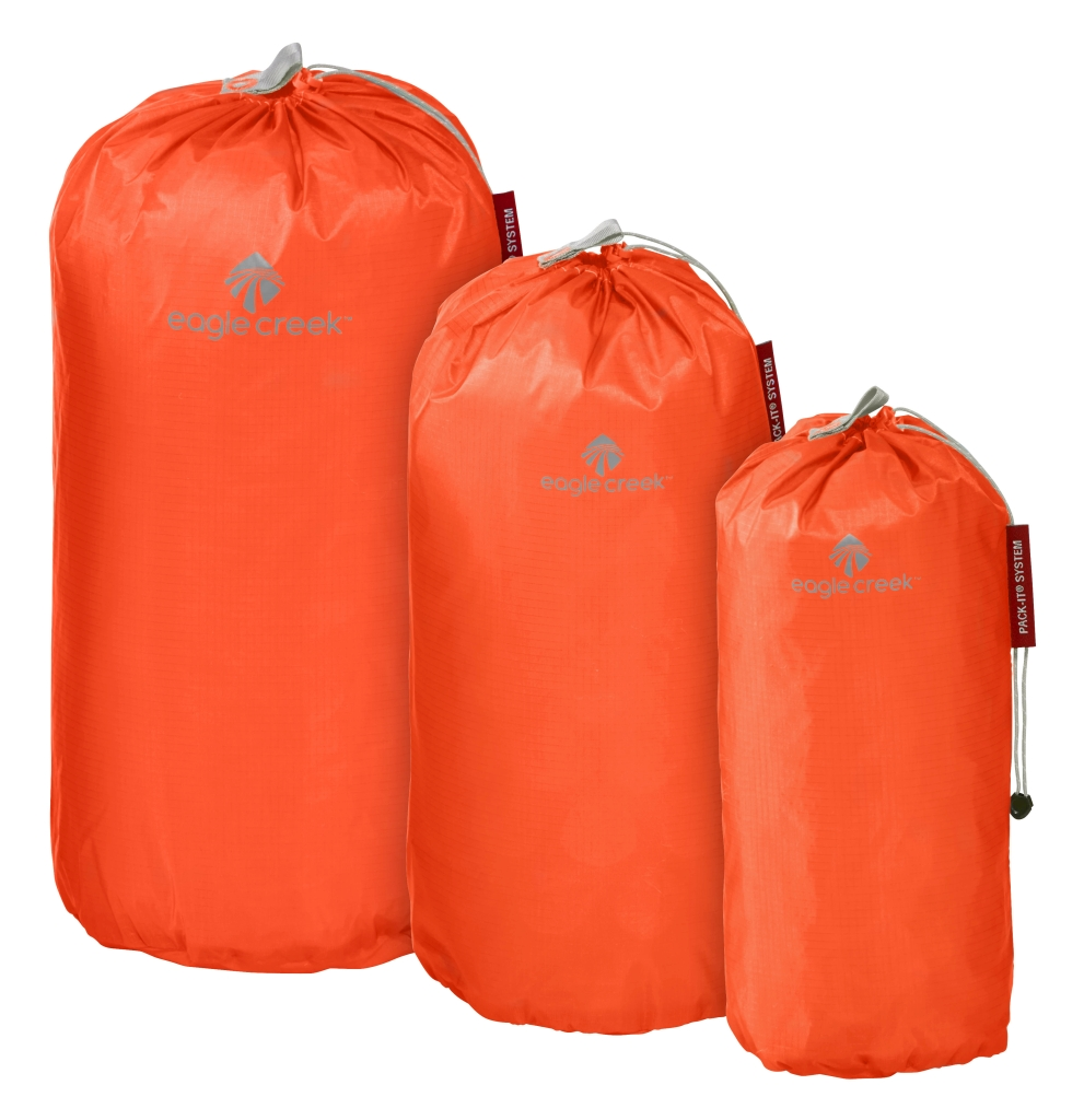 Eagle Creek Pack-It Specter Stuffer Set S/M/L flame orange-30