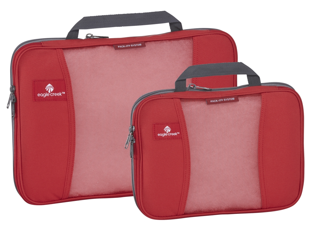 Eagle Creek Pack-It Compression Half Cube red fire-30