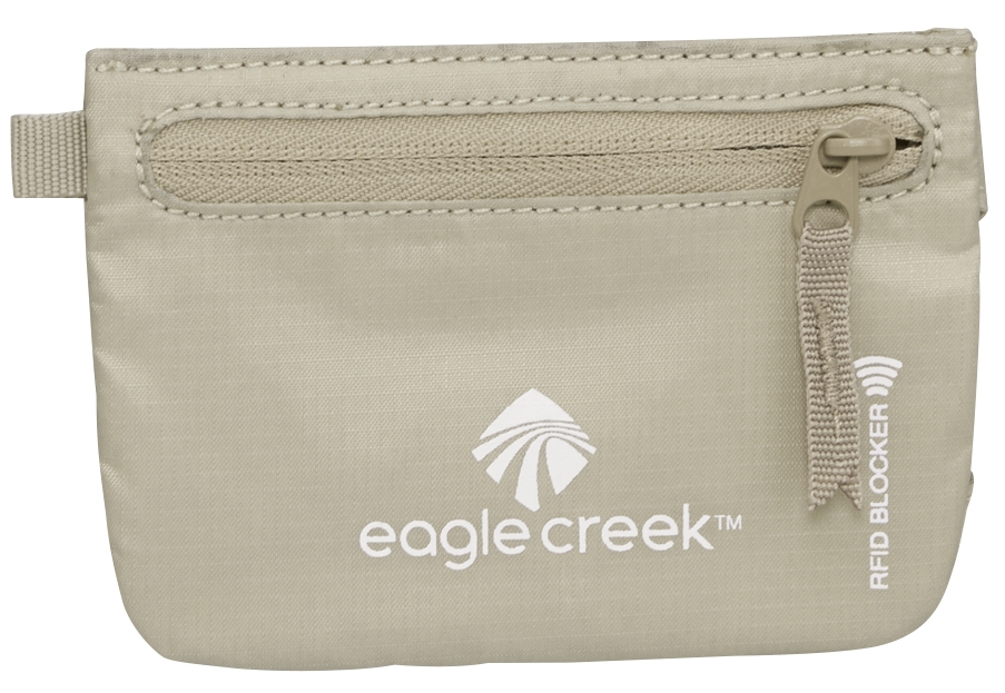 Eagle Creek RFID Credit Clip tan-30
