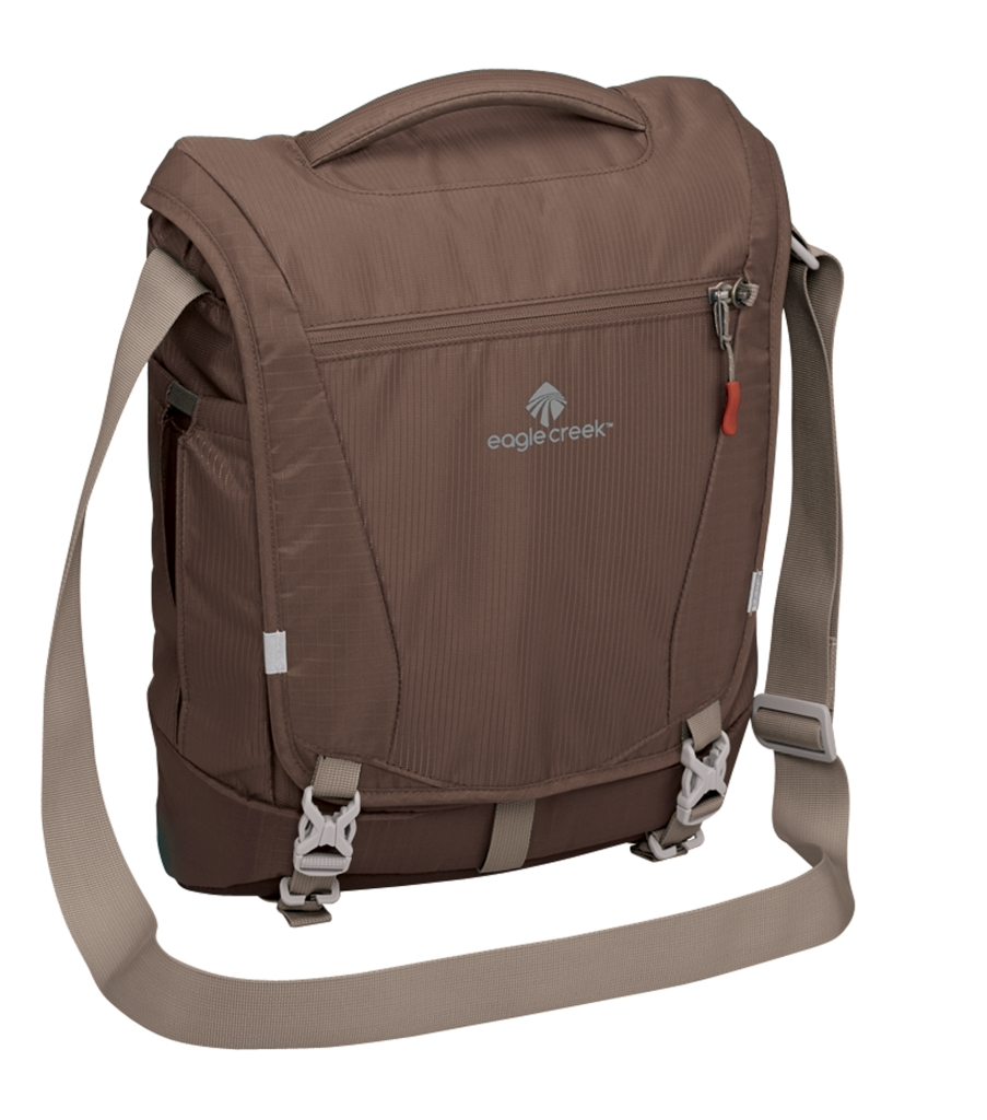 Eagle Creek Catch All Courier Pack RFID brown-30