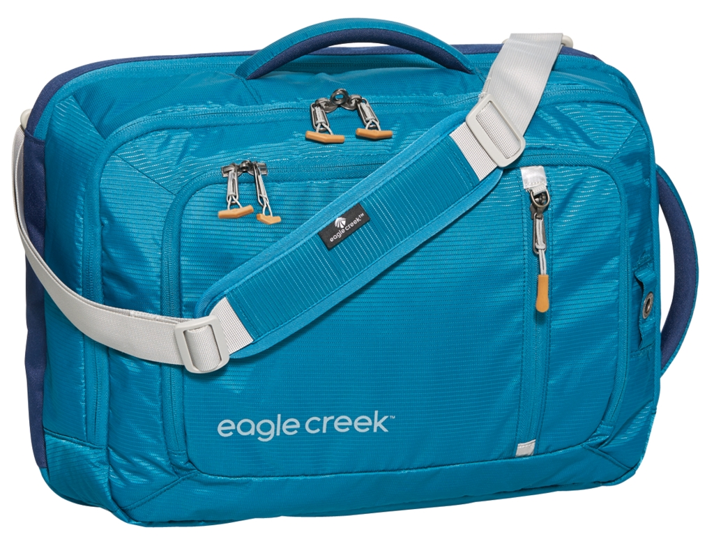 Eagle Creek Straight Up Business Brief Rfid Celestial Blue 30