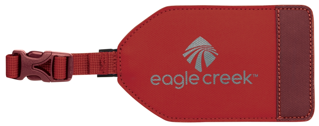 Eagle Creek Bi-Tech Luggage Tag firebrick-30