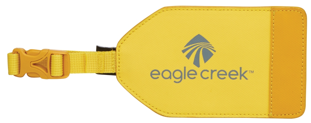 Eagle Creek Bi-Tech Luggage Tag canary-30